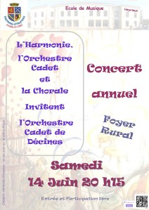 concert annuel 14062014