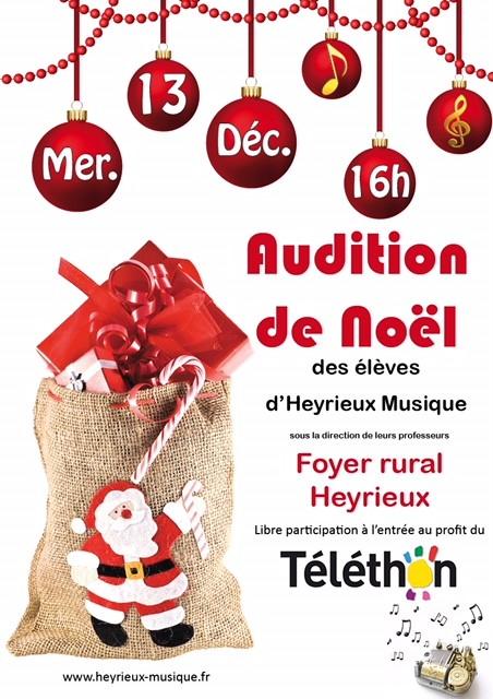 2017 12 13 Audition de Noël