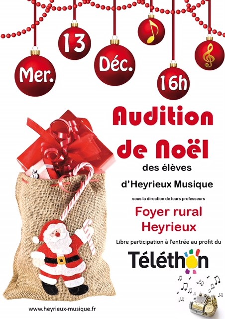 2017 12 13 Audition de Noël