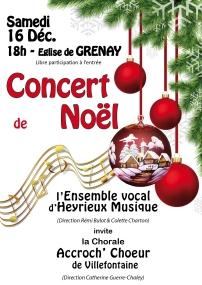 2017 12 16 Concert de Noël CHORALE